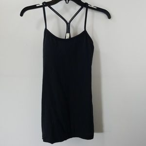 Lululemon Athletica Black Workout Tank Top Size 4